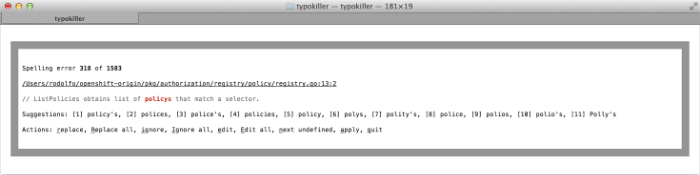 typokiller screenshot